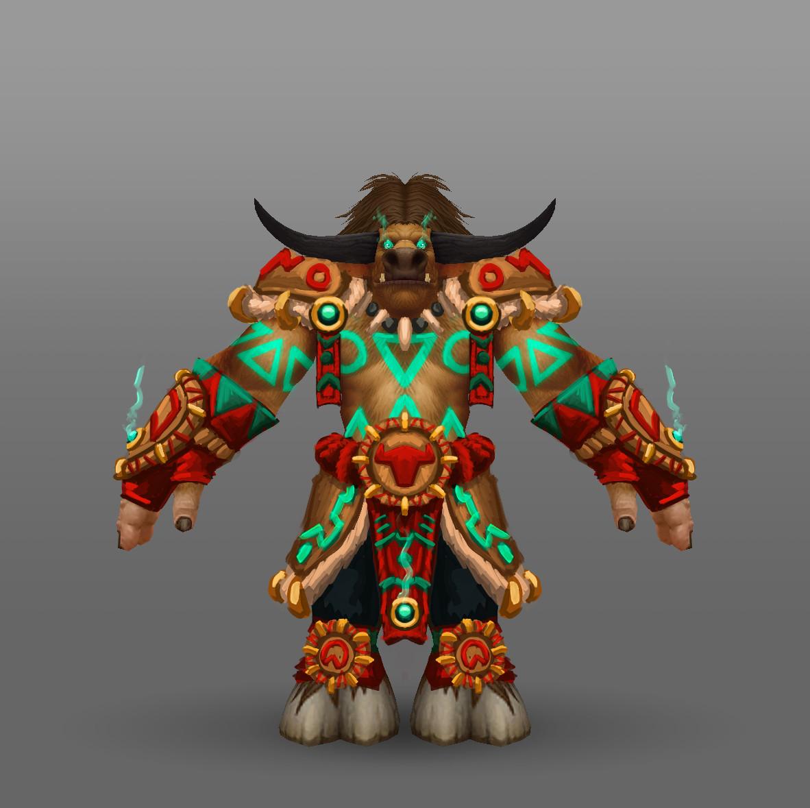 Arthur Lorenz World Of Warcraft Racial Class Armor