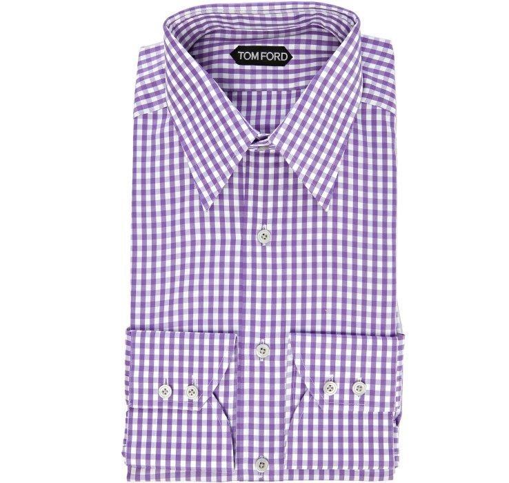 Button Mens Shirt Pink