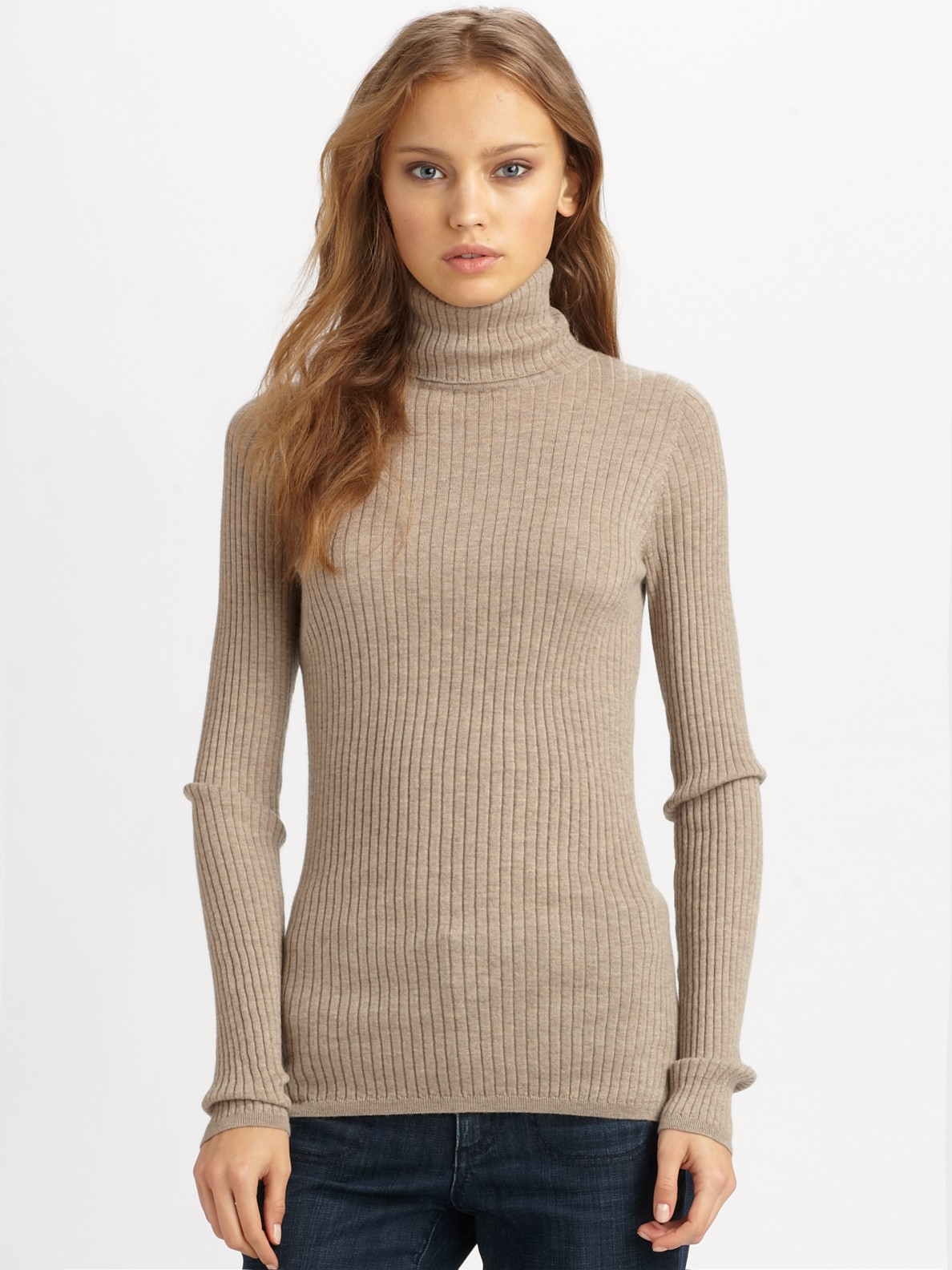See Through Cable Knit Sweater