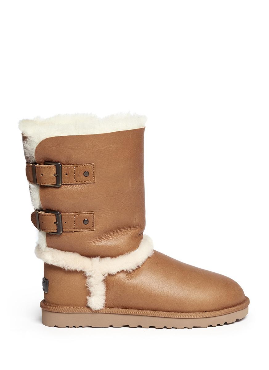 Fur White Boots Heel
