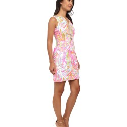 157b410ec3 Lilly Pulitzer White Dress With Blue Flower | Gardening: Flower and ...