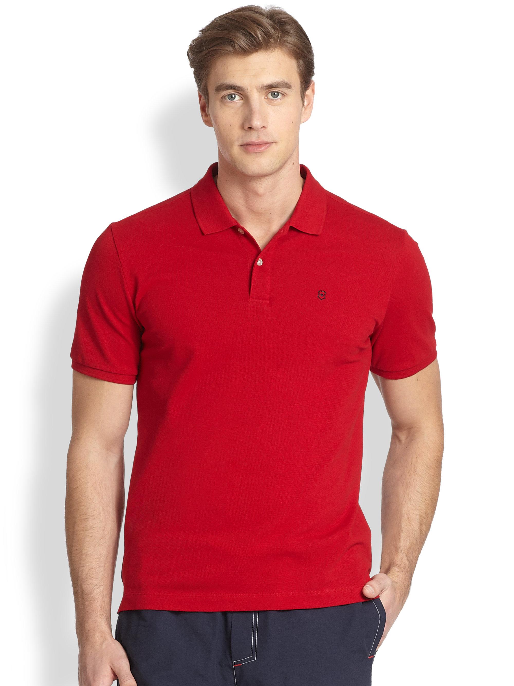 Victor Sullivan Polo Red
