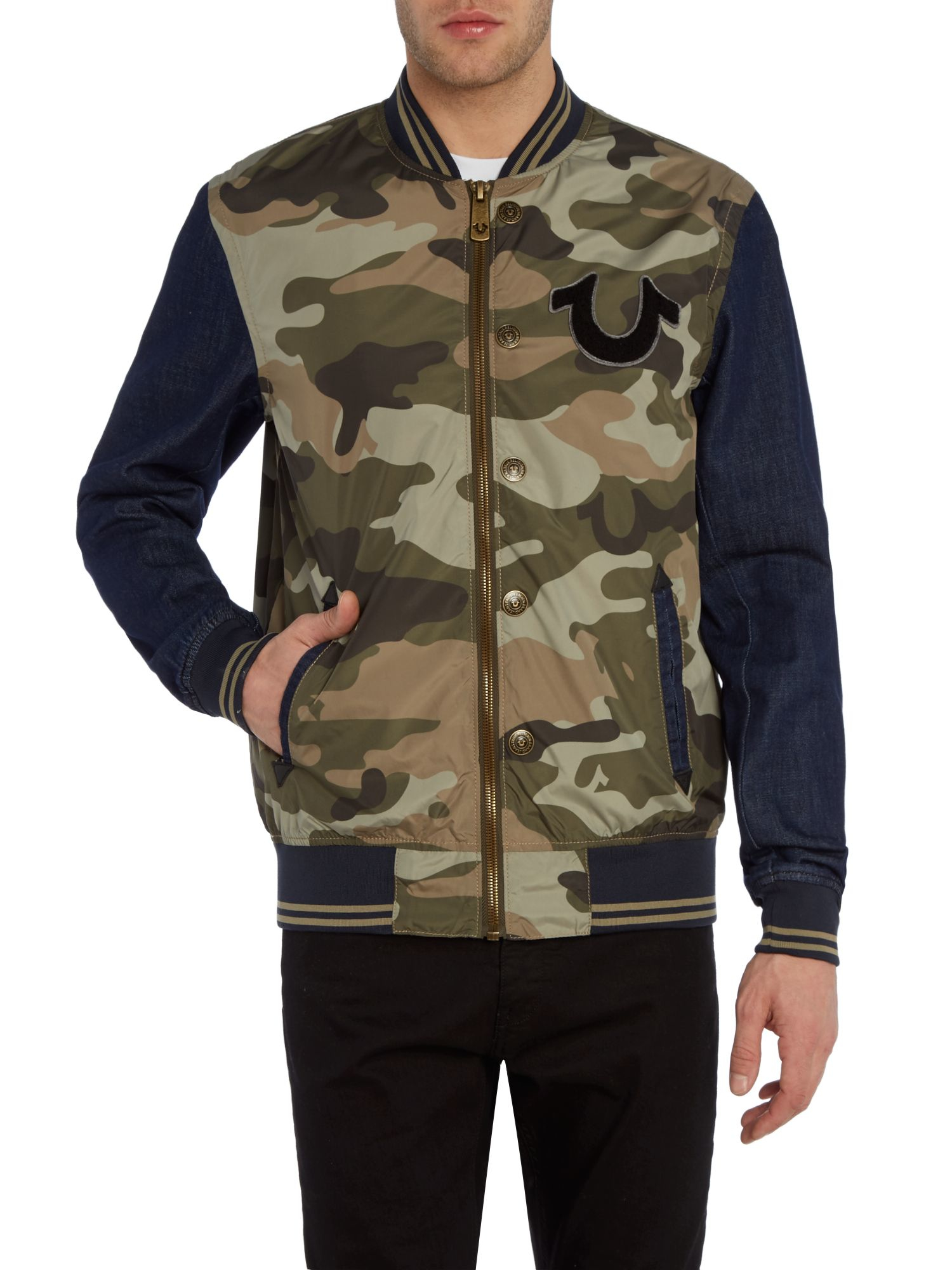 True Religion Camo Jacket