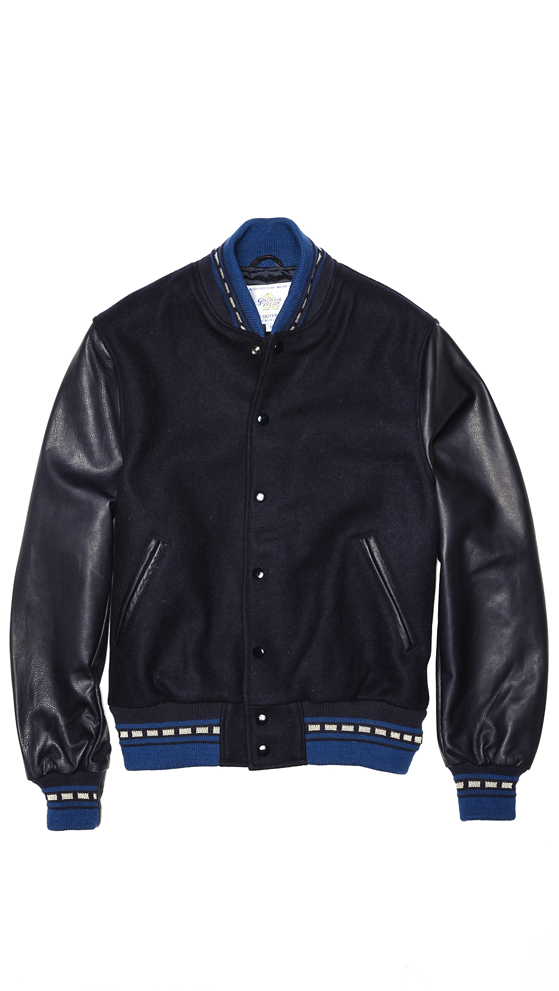 Bear Golden Leather Coats