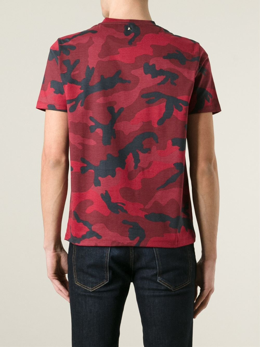 Graphic Shirt Blue Red
