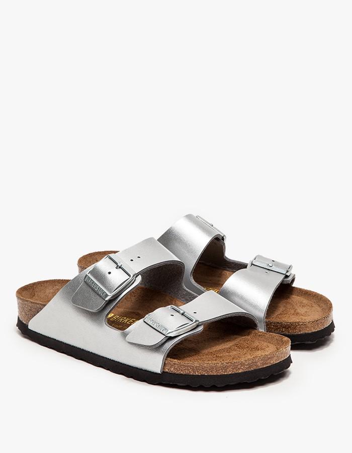 Silver Flat Sandals Bridesmaids