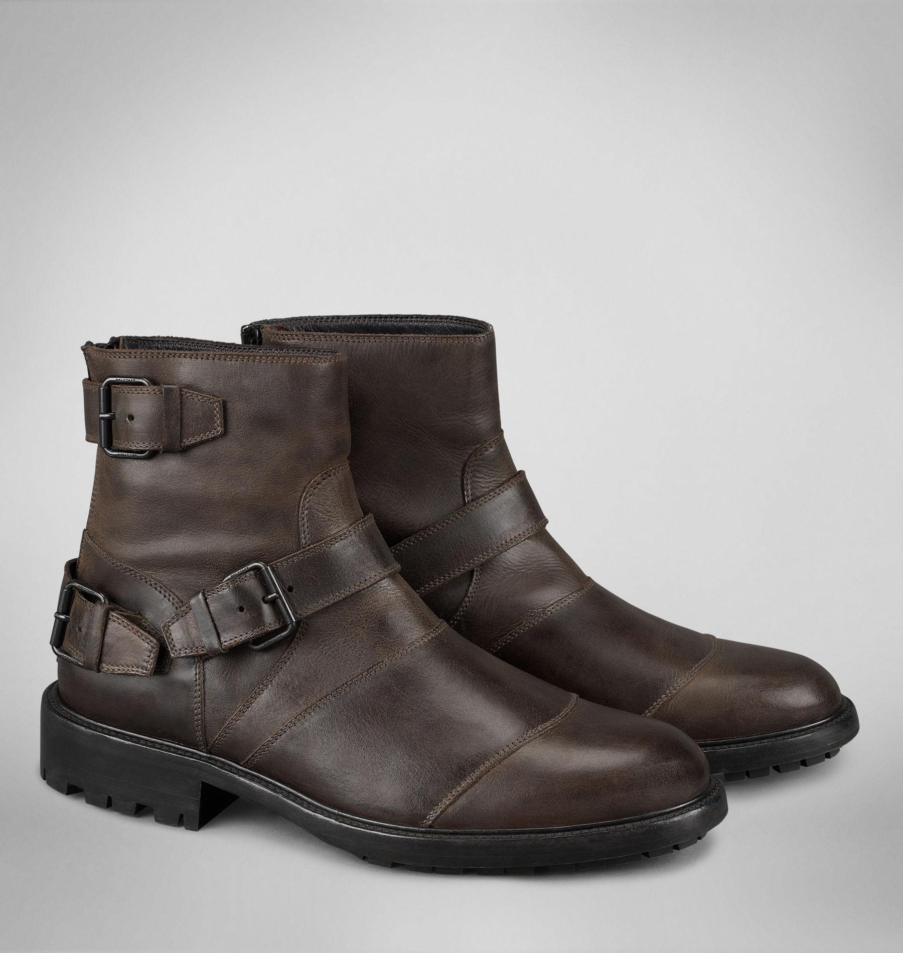 Black Short Biker Boots
