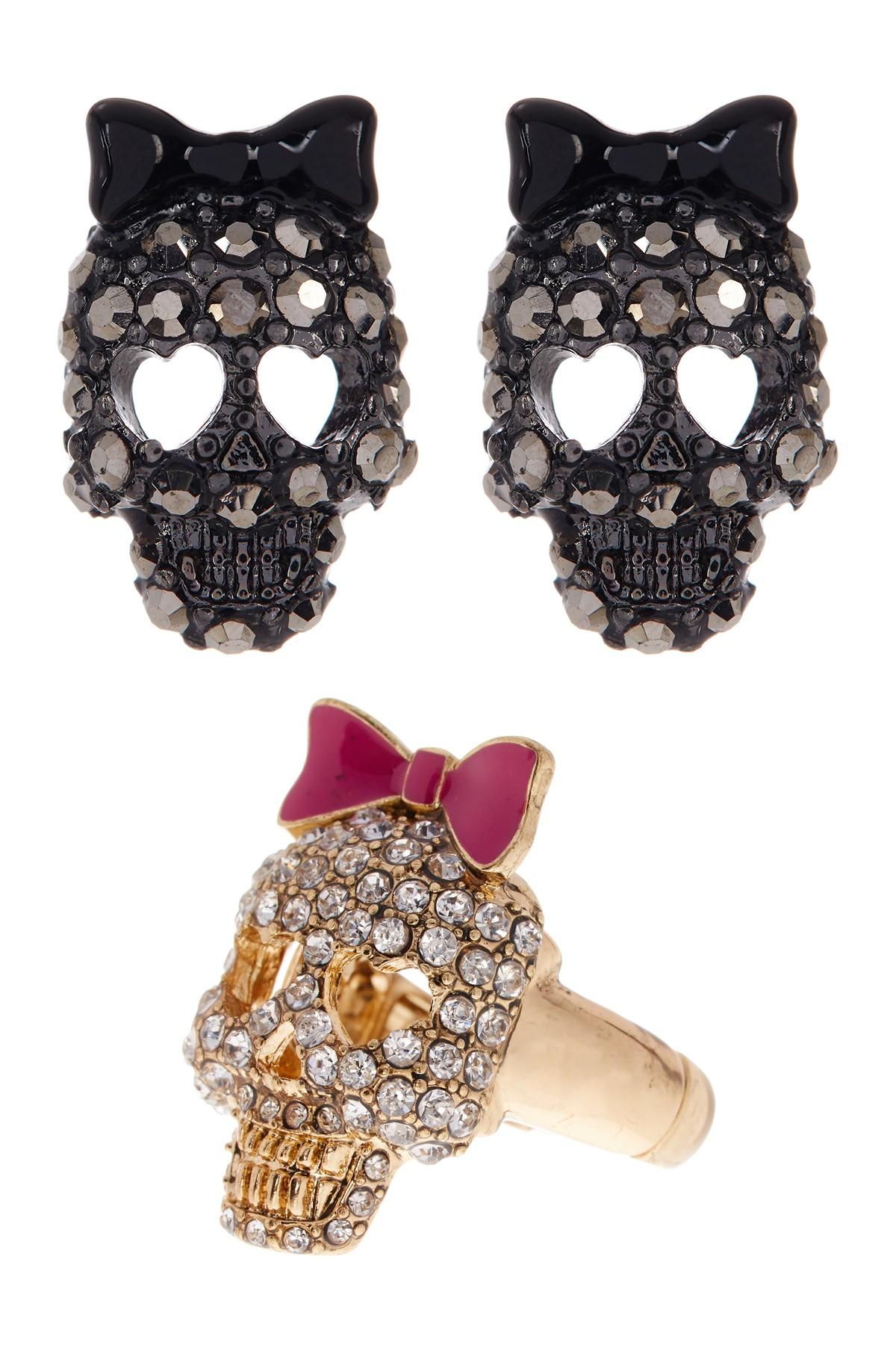 Kate Spade Bow Earrings Rose Gold