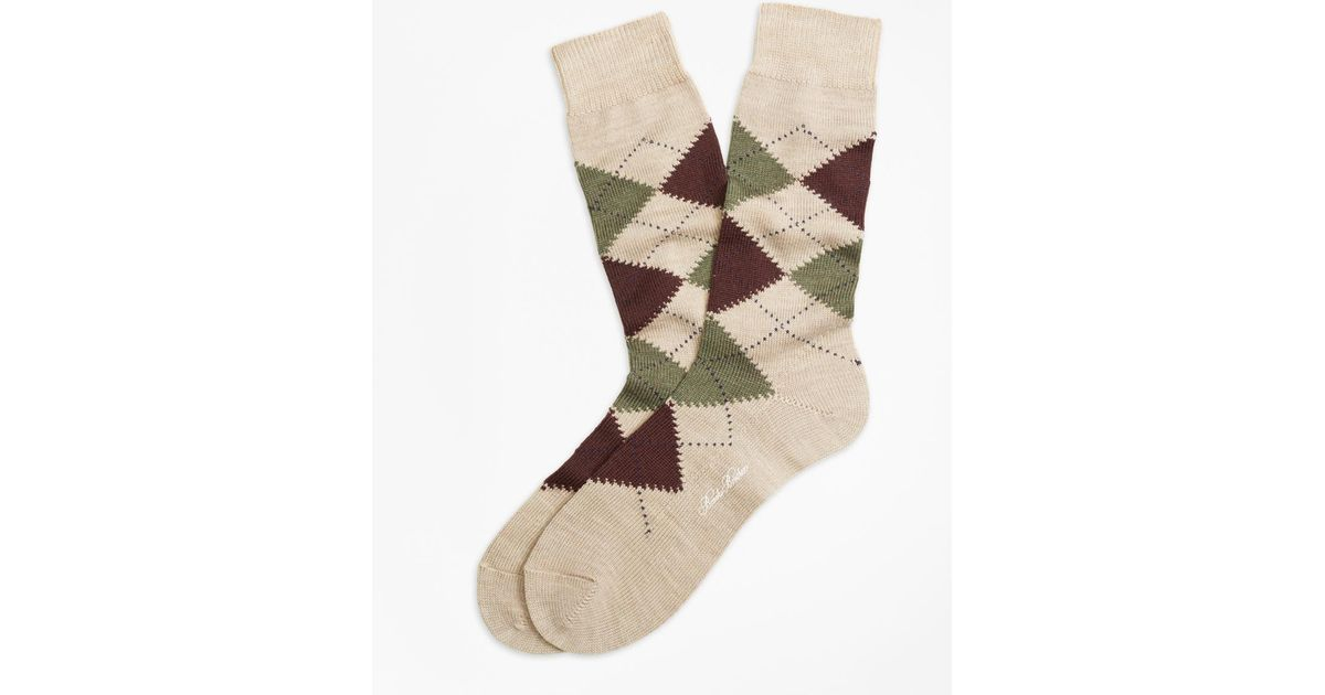 Argyle Socks With Flats