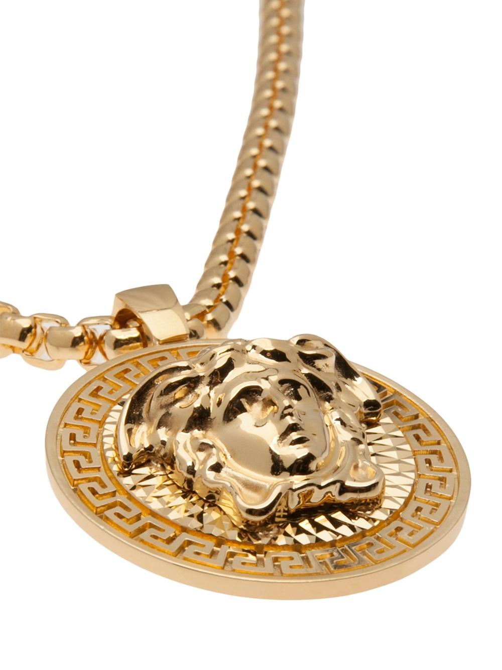 Versace Gold Necklace Men