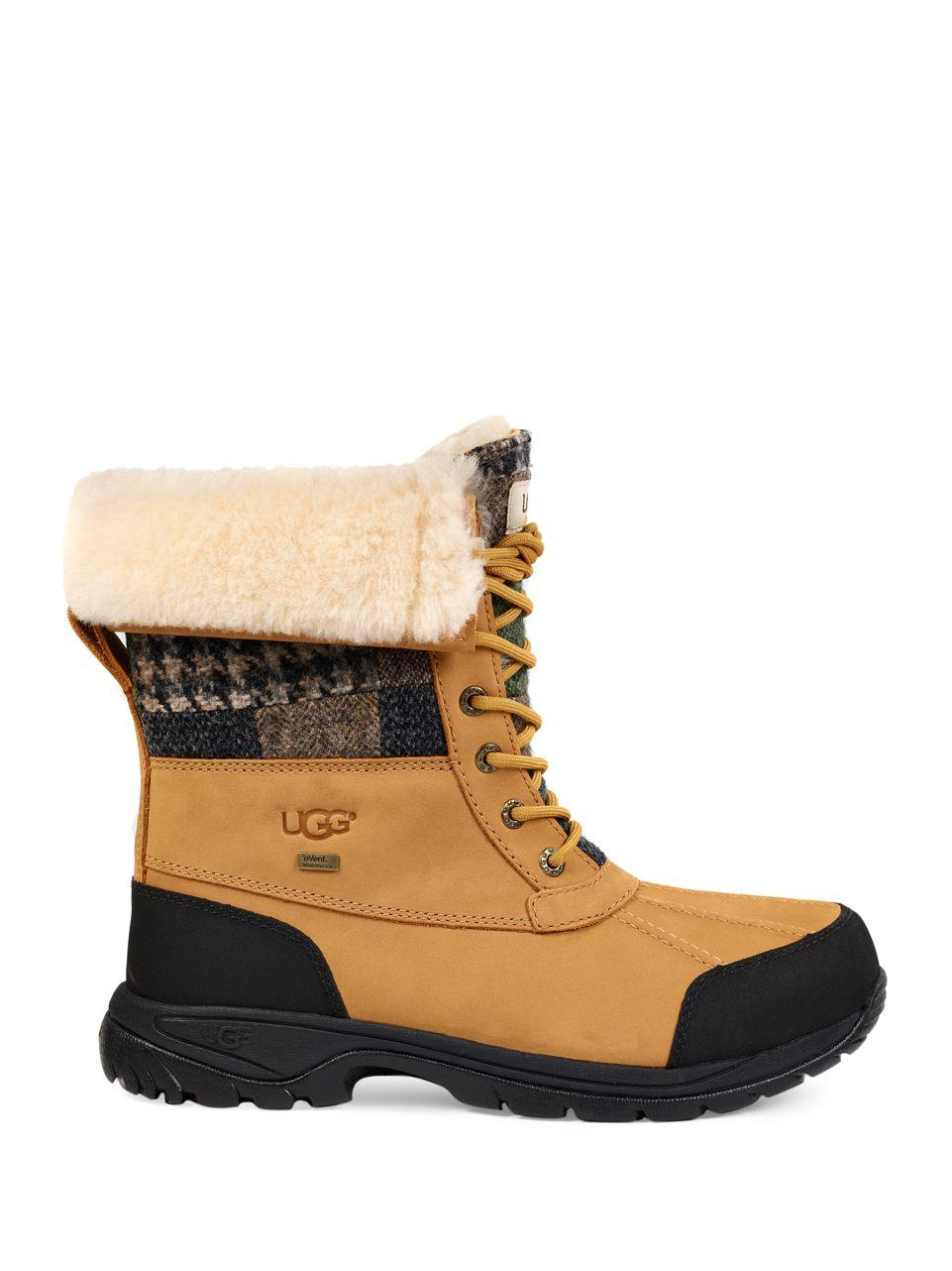 Lace Brown Boot Desert