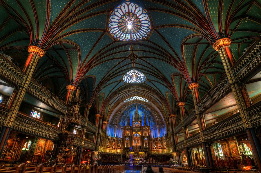Basilique Notre Dame De Montr 233 Al Hdr Creme