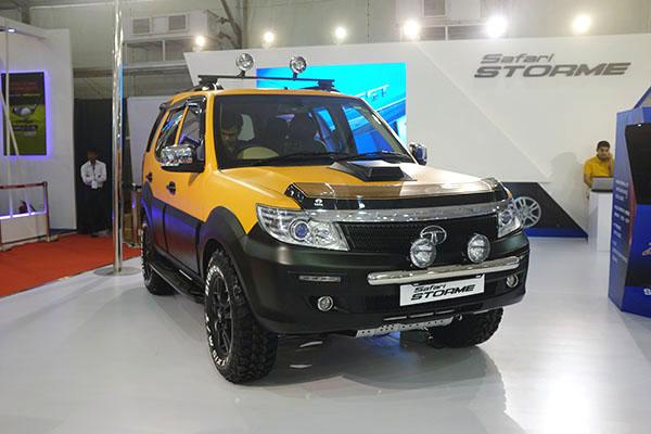Tata Safari Storme Custom At The Autocar Performance Show