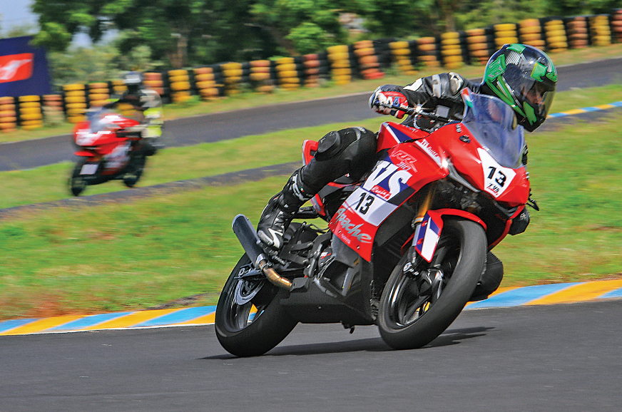Tvs Apache Rr 310 Cup Race Bike Review Track Ride