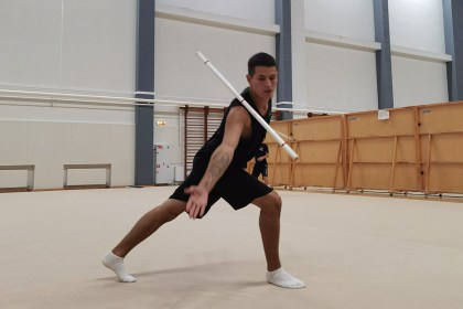 Russian male athletes looking for recognition in rhythmic gymnastics