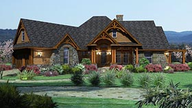 Homes with In Law Suites at FamilyHomePlans com House Plan 65862