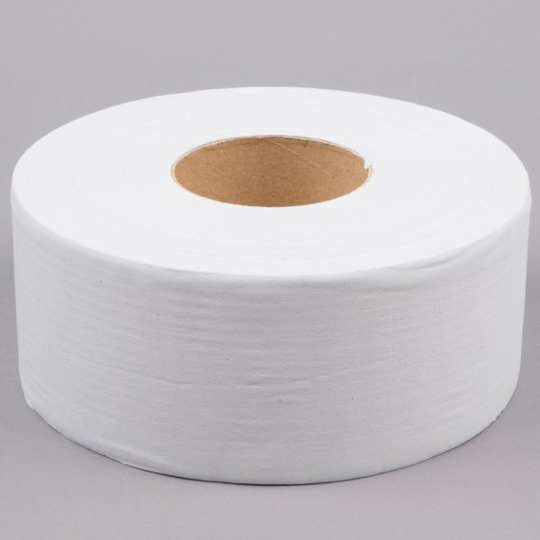 Commercial Bulk Toilet Paper   Commercial Toilet Tissue Lavex Janitorial 1 Ply Jumbo Toilet Paper Roll with 9 inch Diameter   12