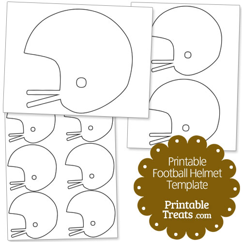 Printable Paper Football Template