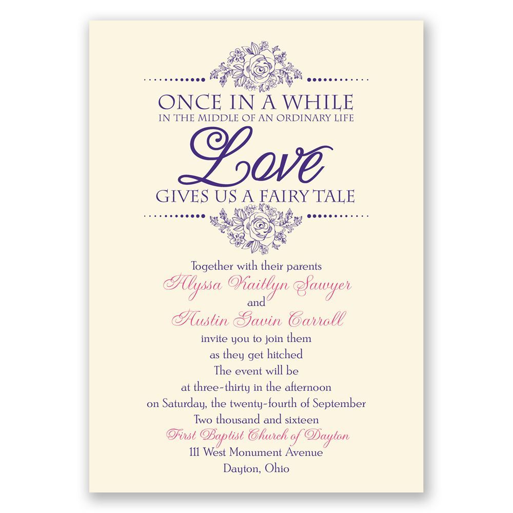 Personal Marriage Invitation Messages