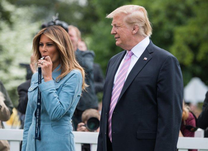 In photos: First lady Melania Trump turns 49 - All Photos ...
