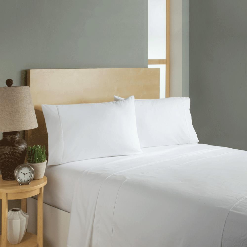 Simple Sheets Sleep Soft Bed Sheets Set - White ...