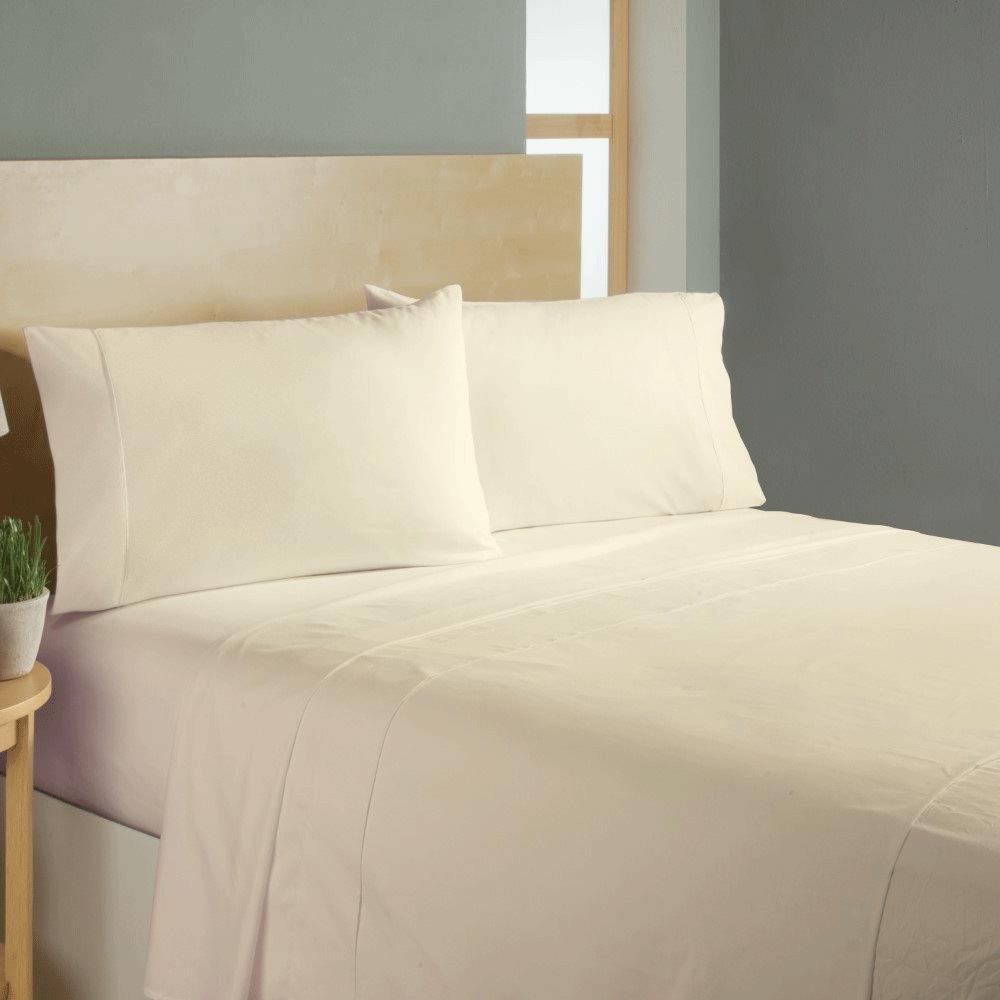 Simple Sheets Sleep Soft Bed Sheets Set - Beige ...