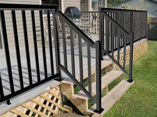 48 W Stair Rail At Menards® | Menards Interior Stair Railing