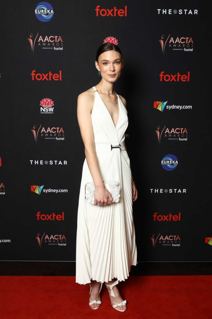 Tilda Cobham Hervey Attends 2019 Aacta Awards And Industry