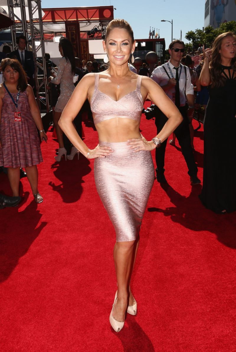 Kym Johnson 2014 Espy Awards In Los Angeles