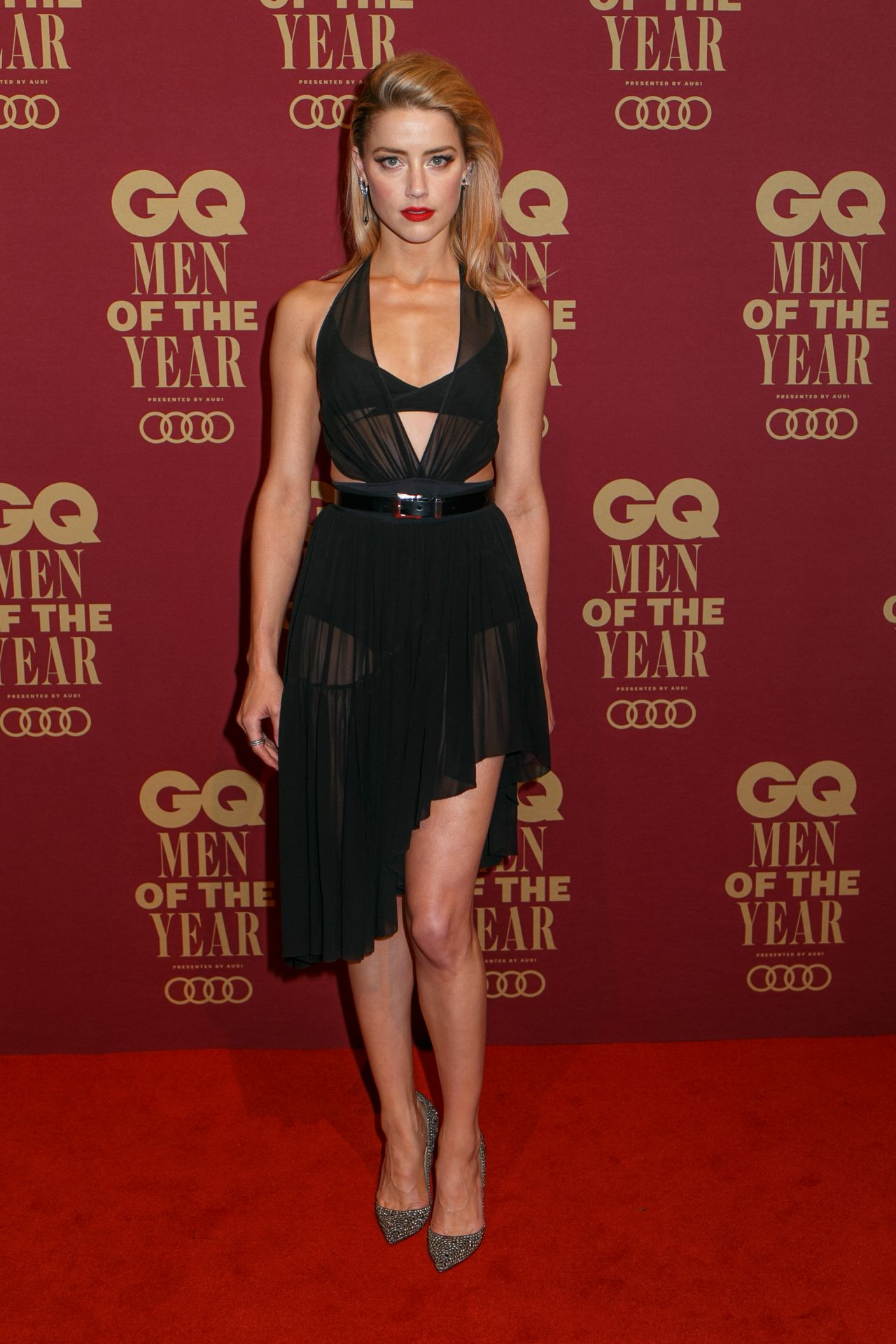 Amber Heard 2017 Gq Men Of The Year Awards In Sydney