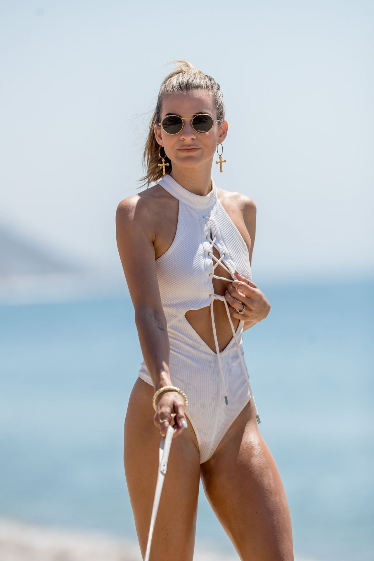 Rachel Mccord In Swimsuit In Malibu 08 03 2018