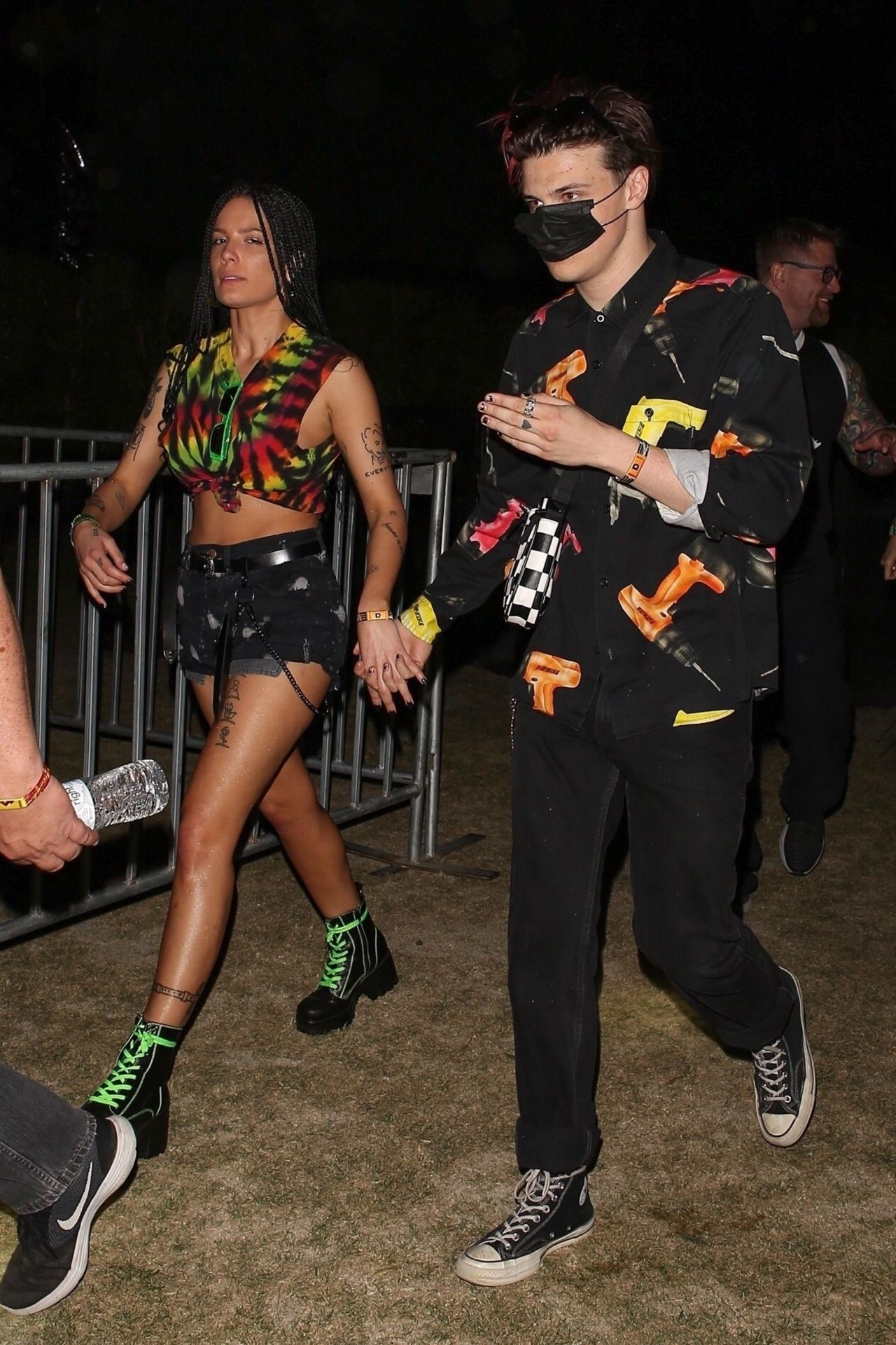 Halsey And Yungblud At The Coachella 04 12 2019