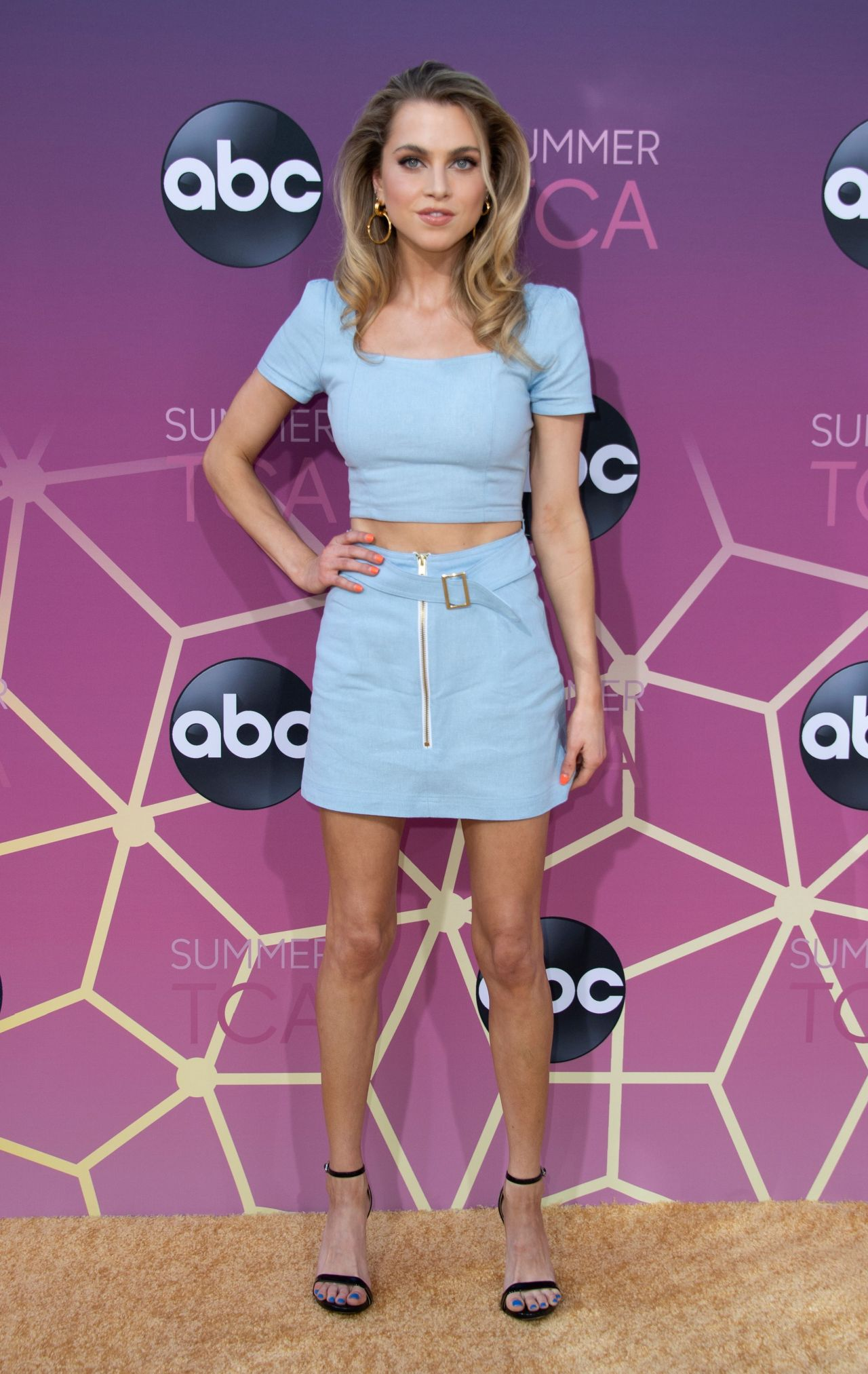 Anne Winters Abc Tca Summer Press Tour In West Hollywood