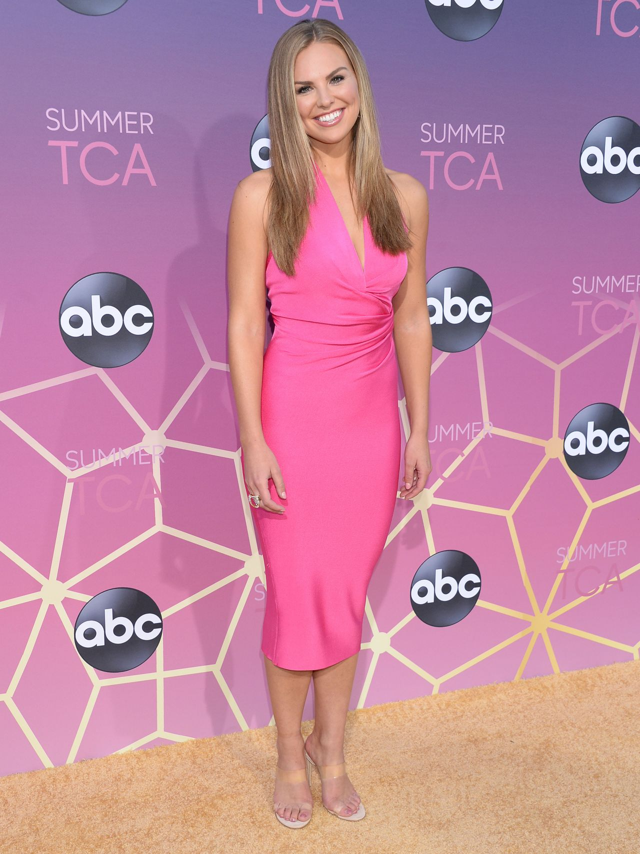 Hannah Brown Abc Tca Summer Press Tour In West Hollywood