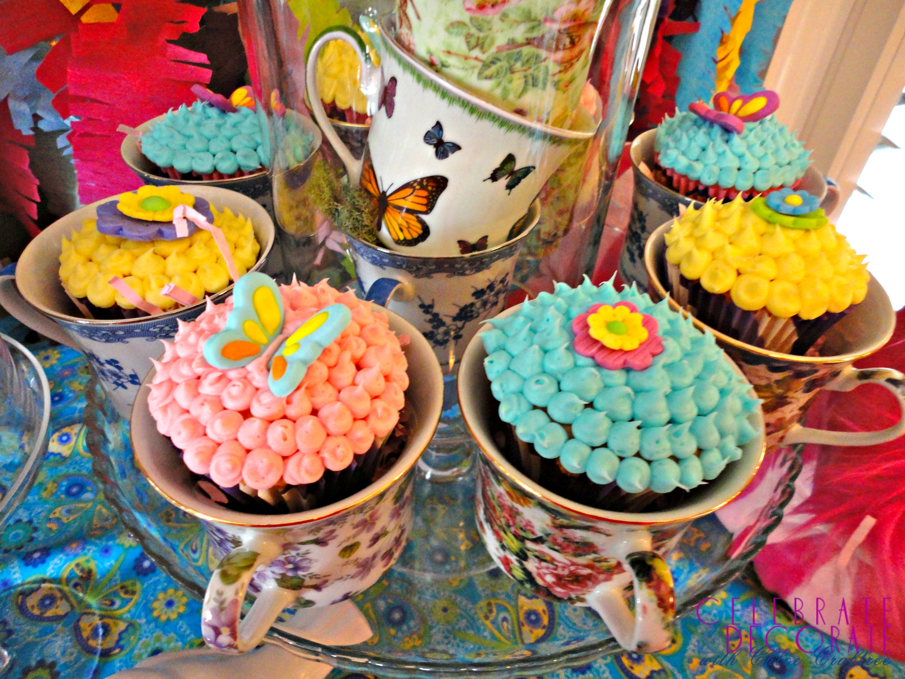 Mad Hatter Tea Party Baby Shower