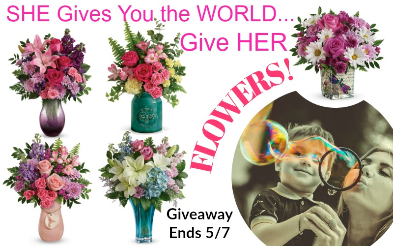 Pink Vase Teleflora Mothers Day