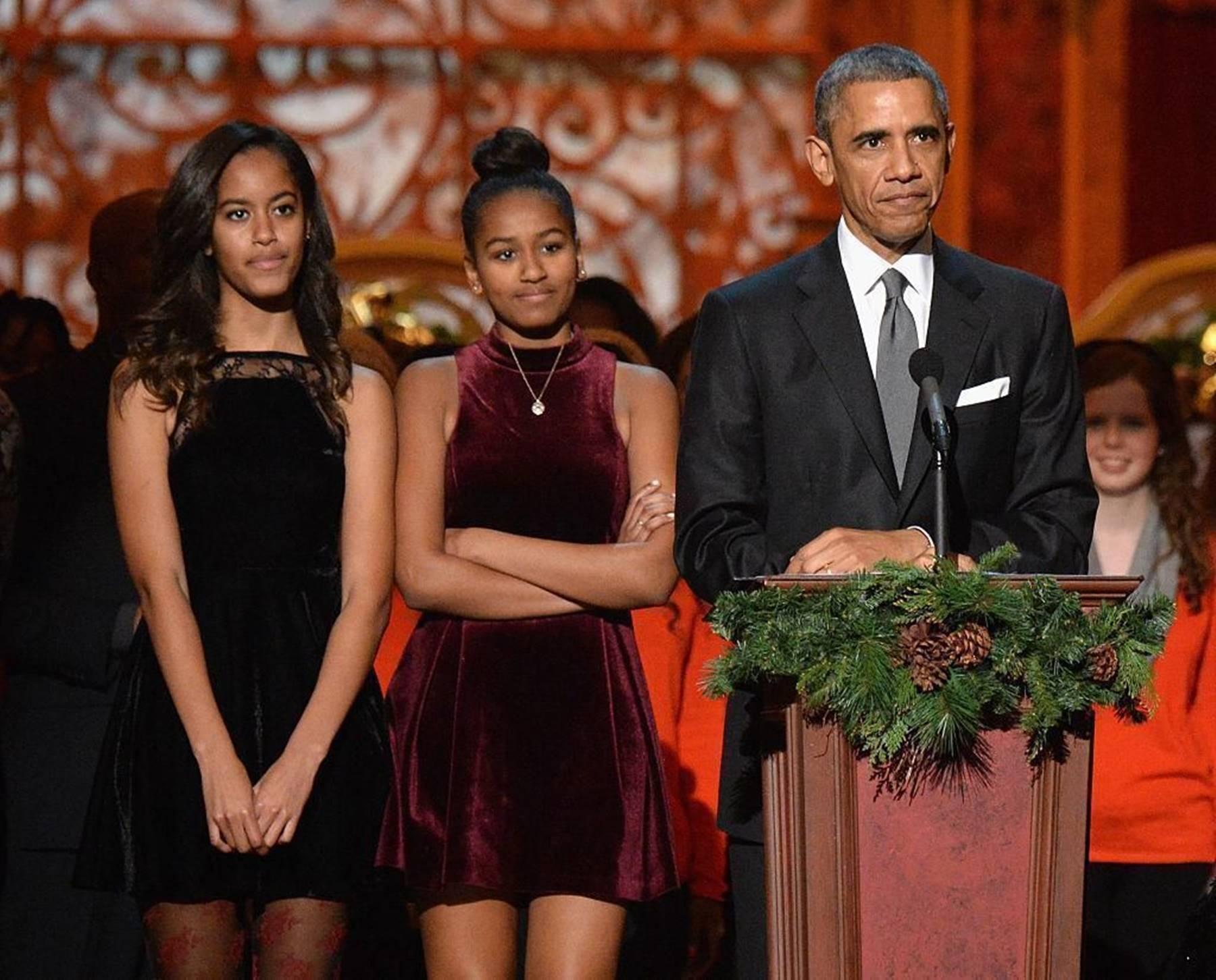 Barack Obama's Daughter Sasha Reveals Her University Pick ...