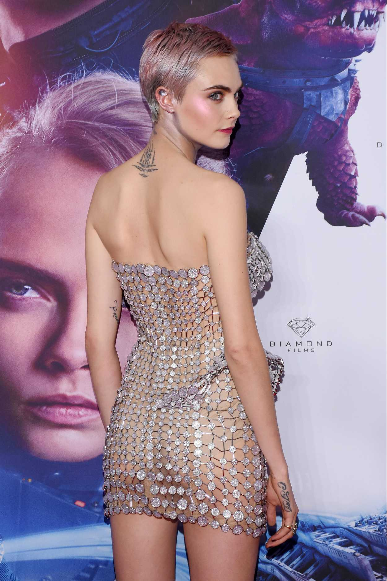 Cara Delevingne At Valerian And The City Of A Thousand