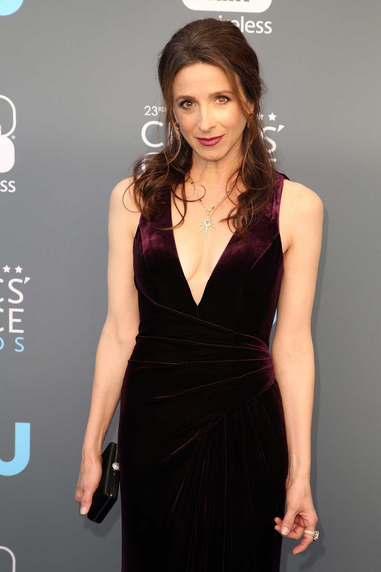 Marin Hinkle At The 23rd Annual Critics Choice Awards In