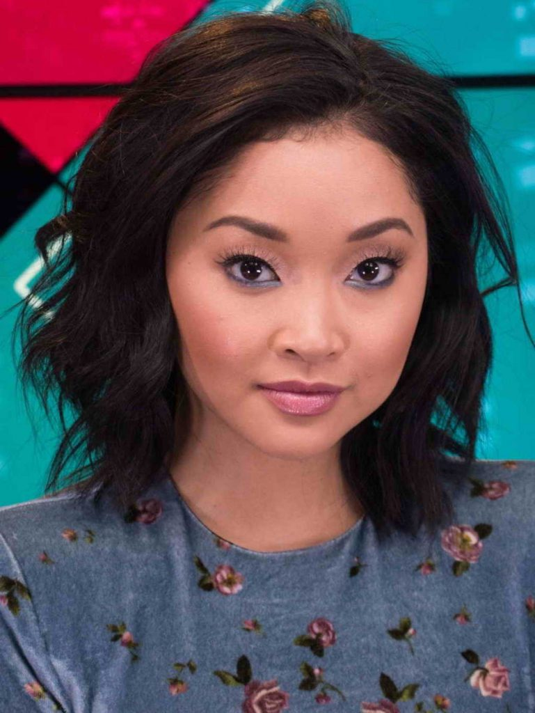 Lana Condor Visits Young Hollywood Studio In Los Angeles