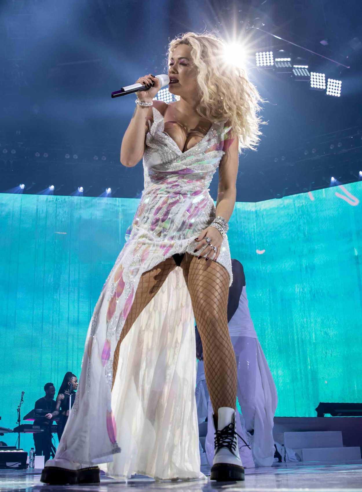 Rita Ora Performs Live At The Bournemouth International