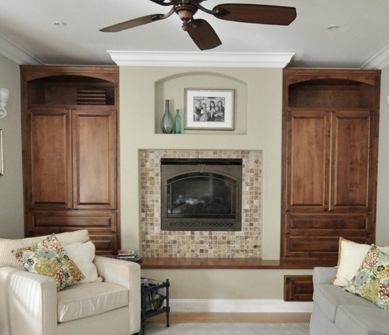 Great Room Designs Fireplace