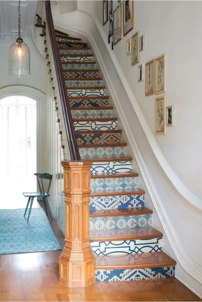 Tiled Staircases Blogs Bloglikes | Tiles Design For Stairs Wall