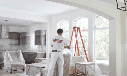 Interior Painting   House Painting   CertaPro Painters 1 Set up