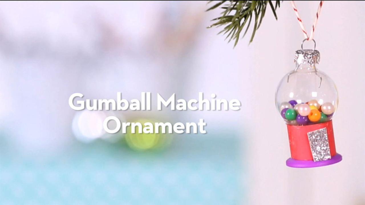 Snow Machine Gumball Globe