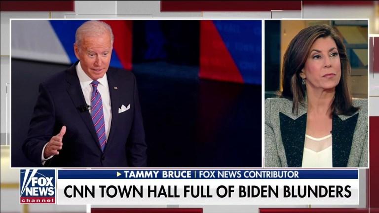 Watch Biden's CNN city corridor was 'stunning': Tammy Bruce – Fox Politics News