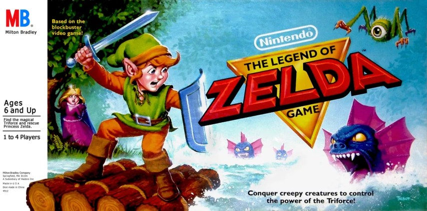 The Legend of Zelda   Board Game   BoardGameGeek