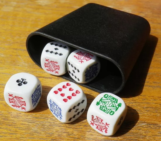 Poker Dice   Board Game   BoardGameGeek