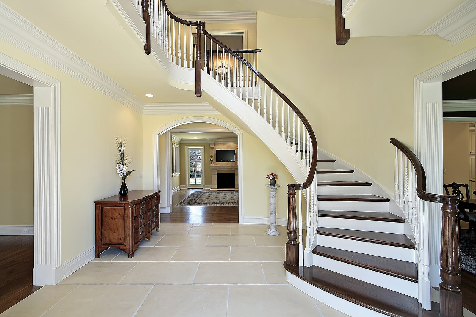 Important Feng Shui Tips For Stairs Lovetoknow | Stair Design For Small House Outside | Small Spaces | Living Room | Wood | Handrail | House Plans