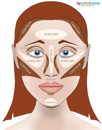 Highlights And Face Contouring Diagram Trusted Wiring Diagrams